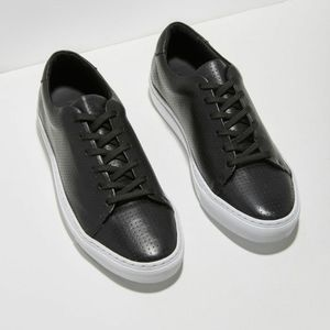 Frank And Oak Park Italian Leather Sneakers